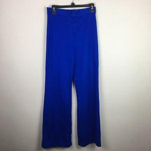 Vintage 70s blue Trouser pants